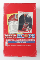 1990-91 NBA Hoops Series II Basketball Box of (36) Packs at PristineAuction.com