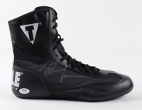 Mike Tyson Signed Title Boxing Boot with Inscription (PSA COA) at PristineAuction.com