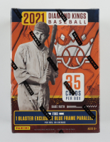 2021 Diamond Kings Baseball Blaster Box with (7) Packs at PristineAuction.com