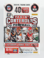 2020 Panini Contenders Football Blaster Box with (40) Cards at PristineAuction.com