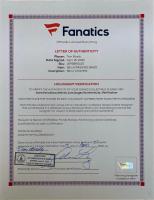 "Tom Brady Signed Buccaneers 26x34.5 Custom Framed Photo Display Inscribed ""SB LV Champs"" (Fanatics LOA) at PristineAuction.com"