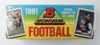1991 Bowman Complete Set of (561) Football Cards (See Description) at PristineAuction.com