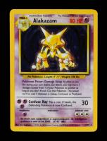 Alakazam 1999 Pokemon Base Unlimited #1 Holo at PristineAuction.com