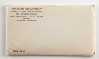 1968 United States Special Mint Set with Envelope at PristineAuction.com