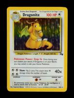 Dragonite 1999 Pokemon Fossil Unlimited #4 Holo at PristineAuction.com