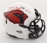 A. J. Green Signed Cardinals Lunar Eclipse Alternate Speed Mini Helmet (Beckett Hologram) at PristineAuction.com