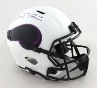 Adam Thielen Signed Vikings Full-Size Lunar Eclipse Alternate Speed Helmet (Beckett Hologram) (See Description) at PristineAuction.com