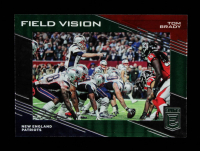 Tom Brady 2017 Elite Field Vision Green #7 at PristineAuction.com