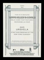 Gio Urshela 2020 Topps Allen & Ginter Relics #FSRAGU A at PristineAuction.com