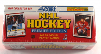 1990 Score NHL Hockey Premiere Edition Complete Set of (445) Cards at PristineAuction.com