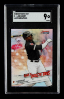 Luis Robert 2018 Bowman's Best Early Indications Refractors #EI3 (SGC 9) at PristineAuction.com