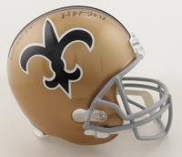 """Willie Roaf Signed Saints Full-Size Helmet Inscribed """"HOF 2012"""" (Schwartz Sports Hologram) at PristineAuction.com"""