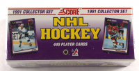 1991 Score NHL Hockey Premiere Edition Complete Set of (440) Cards at PristineAuction.com