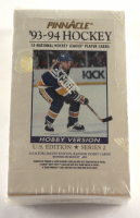 1993-94 Score Pinnacle Series 2 Hockey Unopened Box of (36) Packs at PristineAuction.com