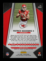 Patrick Mahomes II 2017 Panini Prizm Prizms Red White and Blue #269 at PristineAuction.com