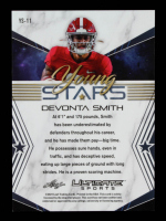DeVonta Smith 2021 Leaf Ultimate Sports Young Stars Gold #YS11 #11/50 at PristineAuction.com