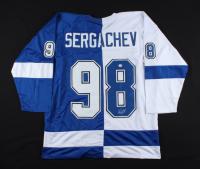 Mikhail Sergachev Signed Jersey (PSA COA) (See Description) at PristineAuction.com