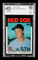Roger Clemens 1986 Topps #661 (BCCG 10) at PristineAuction.com
