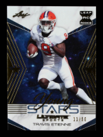 Travis Etienne 2021 Leaf Ultimate Sports Young Stars Gold #YS15 #11/50 at PristineAuction.com