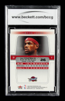 LeBron James 2004-05 Fleer Genuine #26 (BCCG 10) at PristineAuction.com
