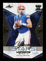 Kyle Trask 2021 Leaf Ultimate Sports Young Stars Gold #YS17 #11/50 at PristineAuction.com