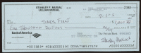 Stan Musial Signed Hand-Written 2005 Personal Bank Check (AIV COA) at PristineAuction.com