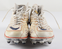 """Tim Tebow Signed Pair of Game Used Nike Football Cleats Inscribed """"Game Used"""" (Tebow Hologram) at PristineAuction.com"""
