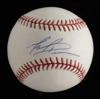 Mark Prior Signed OML Baseball (Beckett COA) at PristineAuction.com