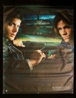 "Jensen Ackles & Jared Padalecki Signed ""Supernatural"" 48x59.5 Canvas Print (JSA COA) at PristineAuction.com"