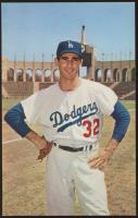 Sandy Koufax 1960 Dodgers Photo Postcard at PristineAuction.com