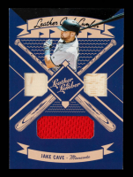 Jake Cave 2019 Panini Leather and Lumber Leather and Lumber Triple Bat-Jersey Relics #25 at PristineAuction.com