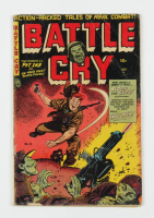 """1954 """"Battle Cry"""" Issue #13 Stanmor Publications Comic Book at PristineAuction.com"""