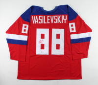 Andrei Vasilevskiy Signed Jersey (PSA COA) at PristineAuction.com