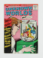 """1964 """"Unknown Worlds"""" Issue #35 ACG Comic Book at PristineAuction.com"""