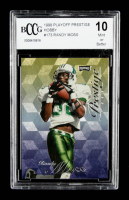 Randy Moss 1998 Playoff Prestige Hobby #173 RC (BCCG 10) at PristineAuction.com