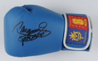 Manny Pacquiao Signed MP8 Boxing Glove with Display Case (JSA COA) (See Description) at PristineAuction.com