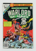 """1977 """"Warlord of Mars"""" Issue #1 Marvel Comic Book at PristineAuction.com"""