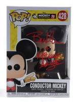 """Bret Iwan Signed """"Mickey the True Original"""" #428 Conductor Mickey Funko Pop! Vinyl Figure Inscribed """"Mickey Mouse"""" (JSA COA) at PristineAuction.com"""