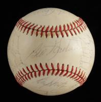 1983 Twins OAL Baseball Signed by (22) with Pete Filson, Kent Hrbek, Frank Viola, Johnny Podres (JSA LOA) at PristineAuction.com