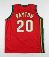 Gary Payton Signed Jersey (Beckett Hologram) at PristineAuction.com