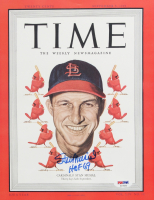 """Stan Musial Signed Cardinals 8x10 Photo Inscribed """"HOF 69"""" (PSA COA) at PristineAuction.com"""