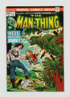 """1973 """"The Man-Thing"""" Issue #2 Marvel Comic Book at PristineAuction.com"""