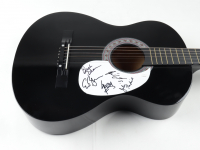 Blue Oyster Cult Full-Size Acoustic Guitar Signed by (5) With Eric Bloom, Buck Dharma, Kasim Sultan, Richie Castellano, & Jules Radino (JSA COA) (See Description) at PristineAuction.com
