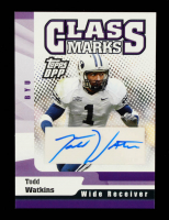 Todd Watkins 2006 Topps Draft Picks & Prospects Class Marks Autographs #CMTW at PristineAuction.com