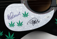 """Cheech Marin & Tommy Chong Signed 38"""" Acoustic Guitar (JSA COA) (See Description) at PristineAuction.com"""