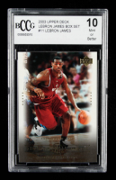 LeBron James 2003 Upper Deck LeBron James Box Set #11 / Preps to the Pros (BCCG 10) at PristineAuction.com