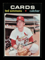 Ted Simmons 1971 Topps #117 at PristineAuction.com