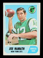 Joe Namath 1968 Topps #65 at PristineAuction.com