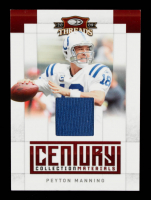 Peyton Manning 2009 Donruss Threads Century Collection Materials #11 #055/250 at PristineAuction.com