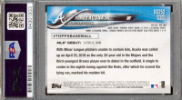 Ronald Acuna Jr. Signed 2018 Topps Update #US252 RC (PSA Encapsulated) at PristineAuction.com
